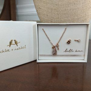 Belle Ame Necklace + Earring set